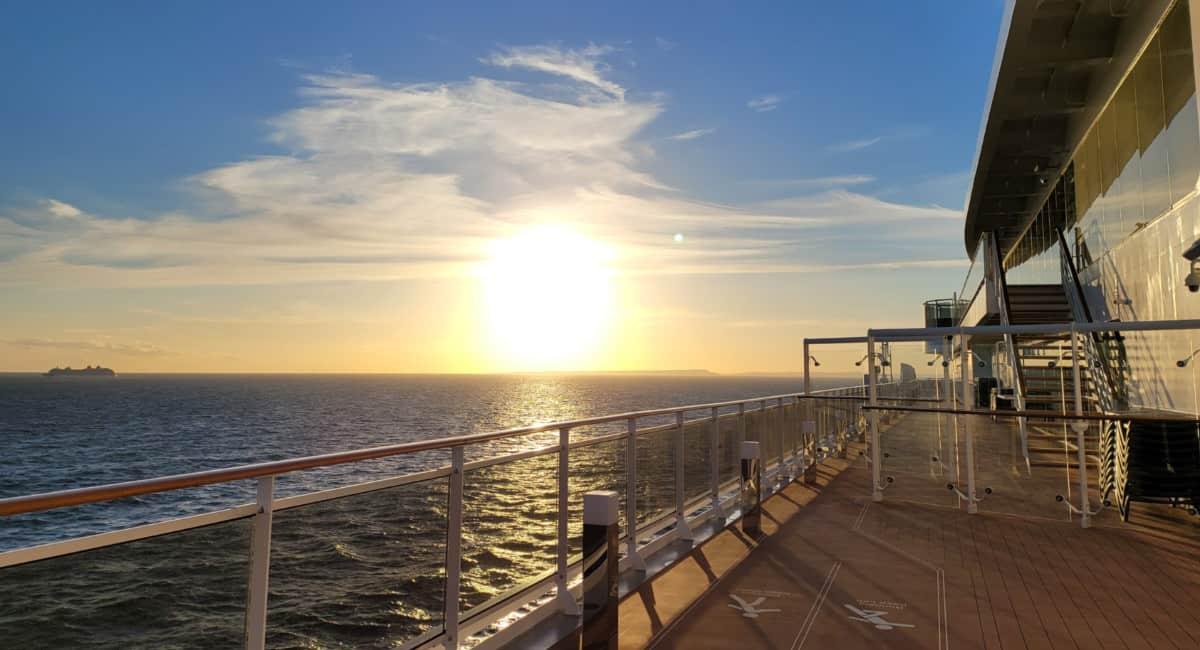 MSC Virtuosa Sunset