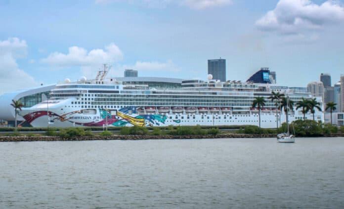 Norwegian Cruise Ship in Florida