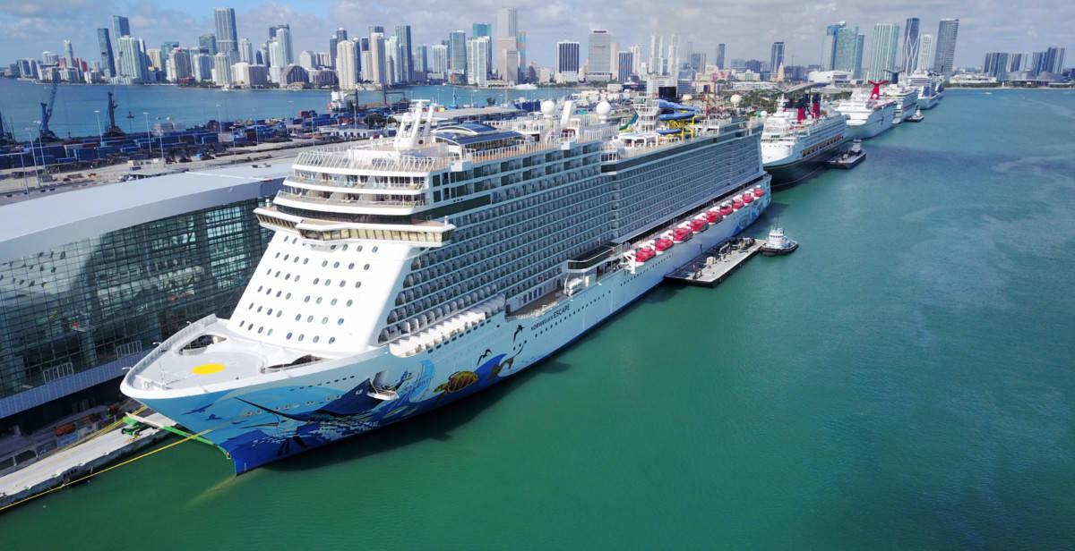 Norwegian Escape in Miami