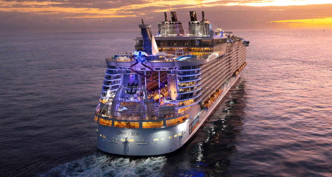 Oasis of the Seas After Dry Dock
