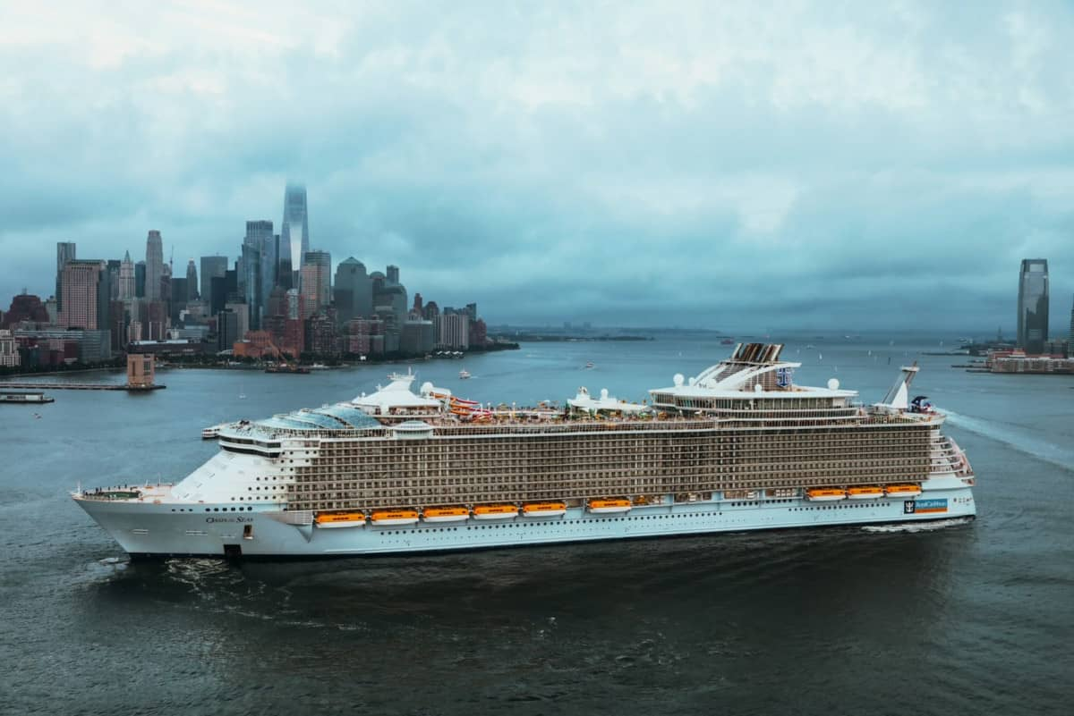 Oasis of the Seas Test Cruise