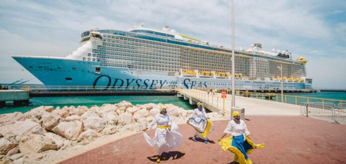 Odyssey of the Seas in Curacao
