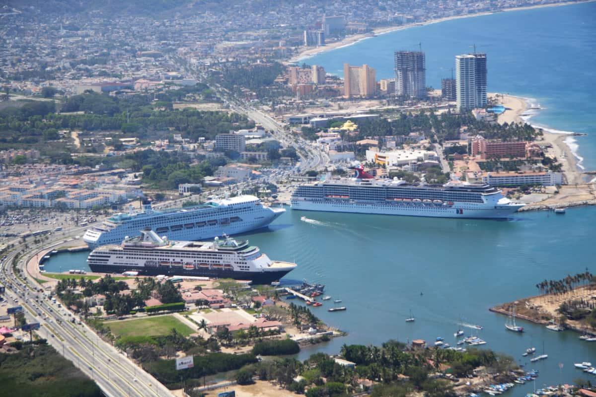 Cruise Ships Docked in Puerto Vallarta