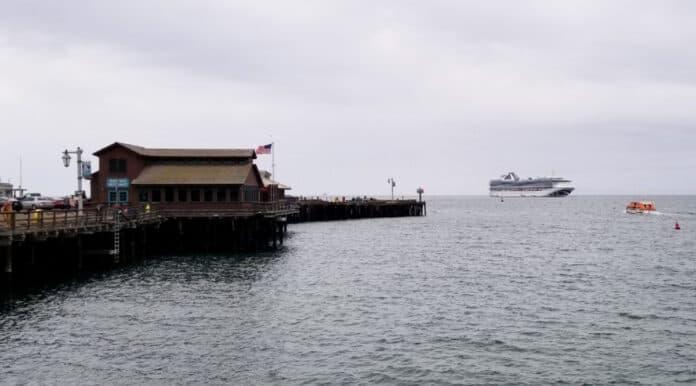 Cruise Ship in Santa Barbara, California