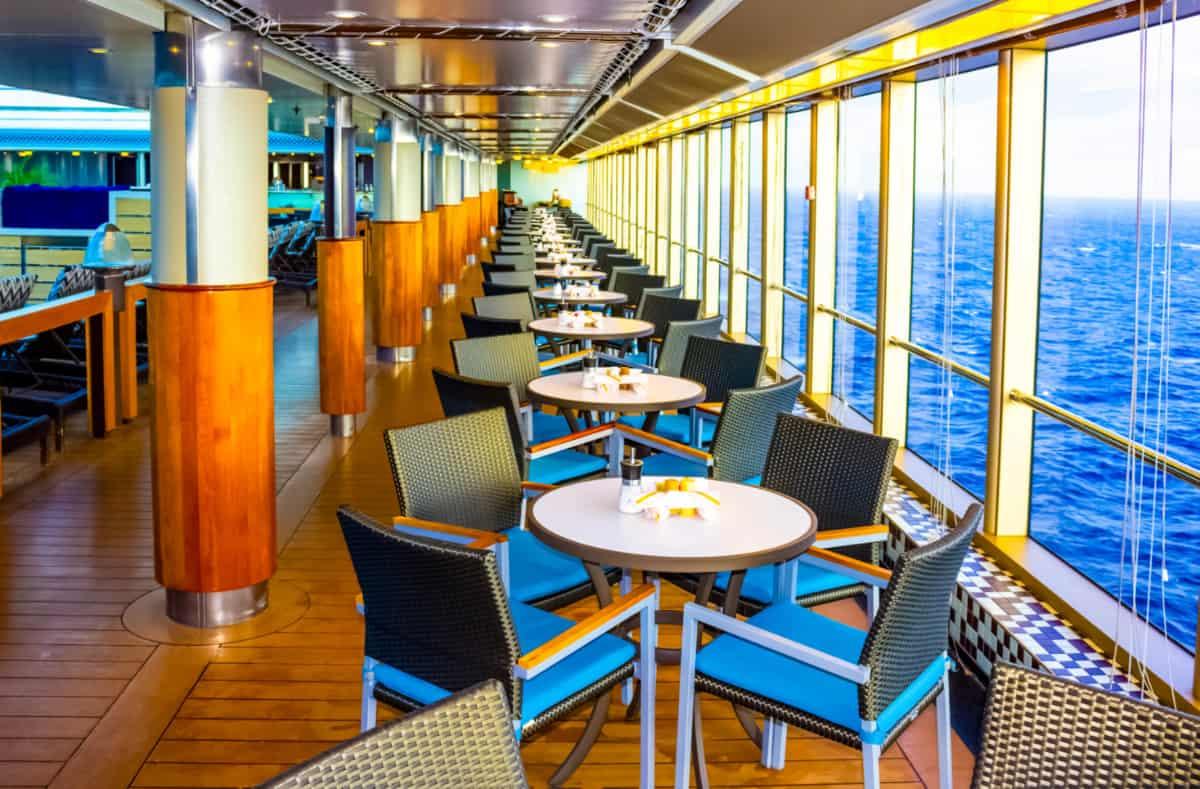 Cruise Ship Buffet Area