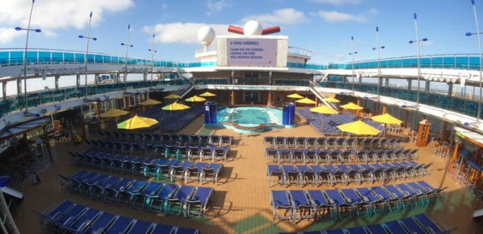 Cruise Ship Lido Deck
