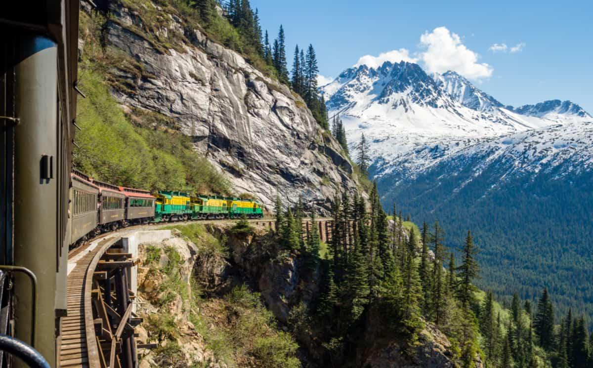 The White Pass Railroad