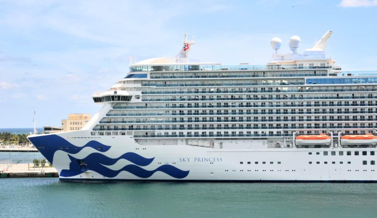Sky Princess Cruise Ship