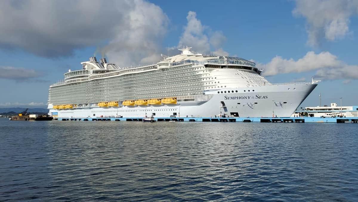 Symphony of the Seas in San Juan, Puerto Rico