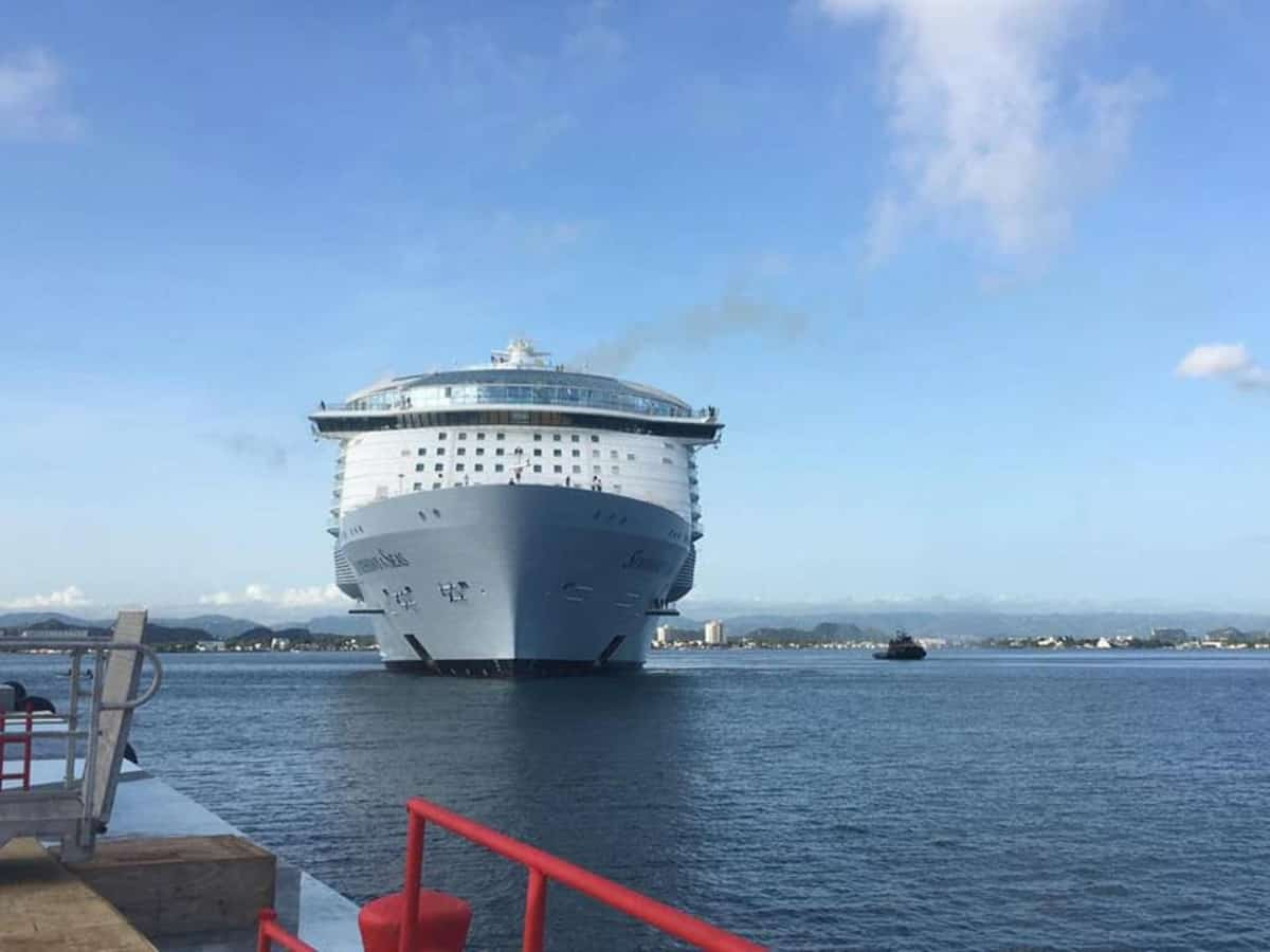 Symphony of the Seas in San Juan