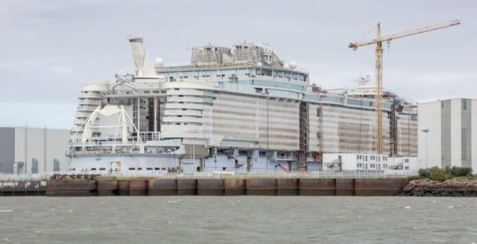 Wonder of the Seas Under Construction