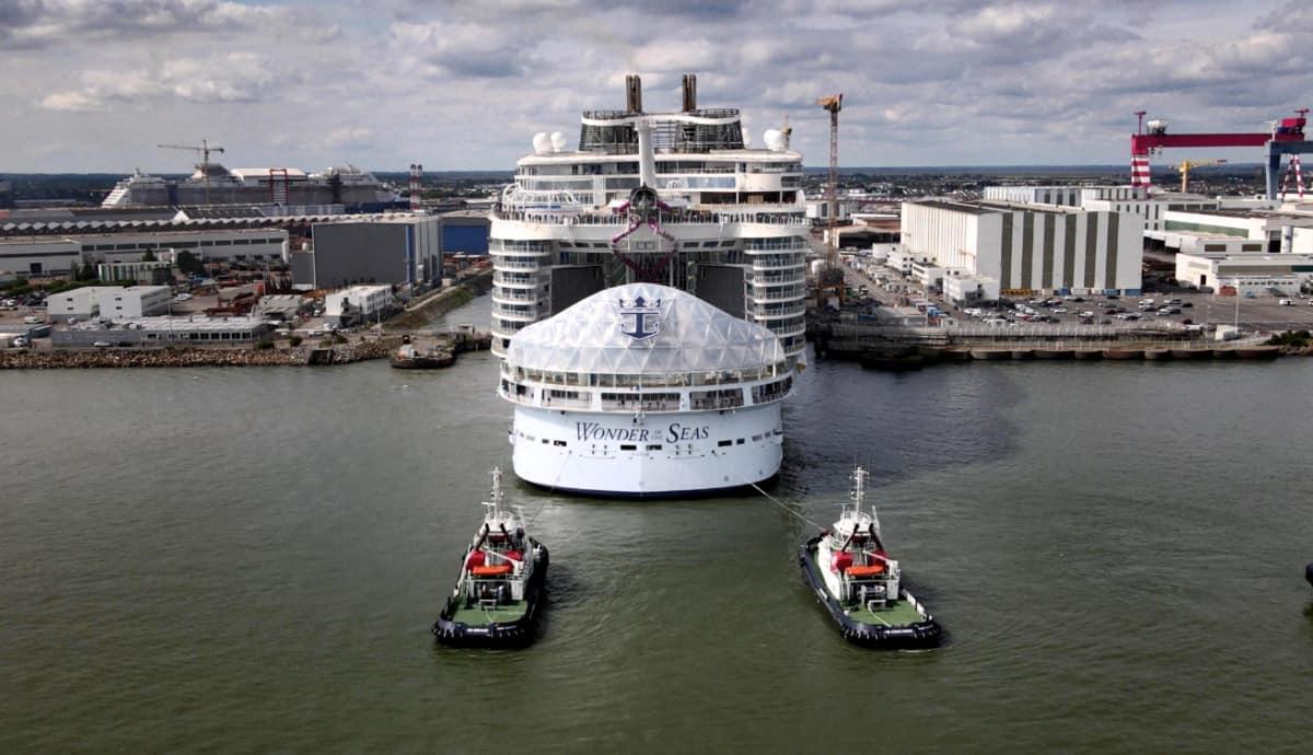 Wonder of the Seas Sea Trials