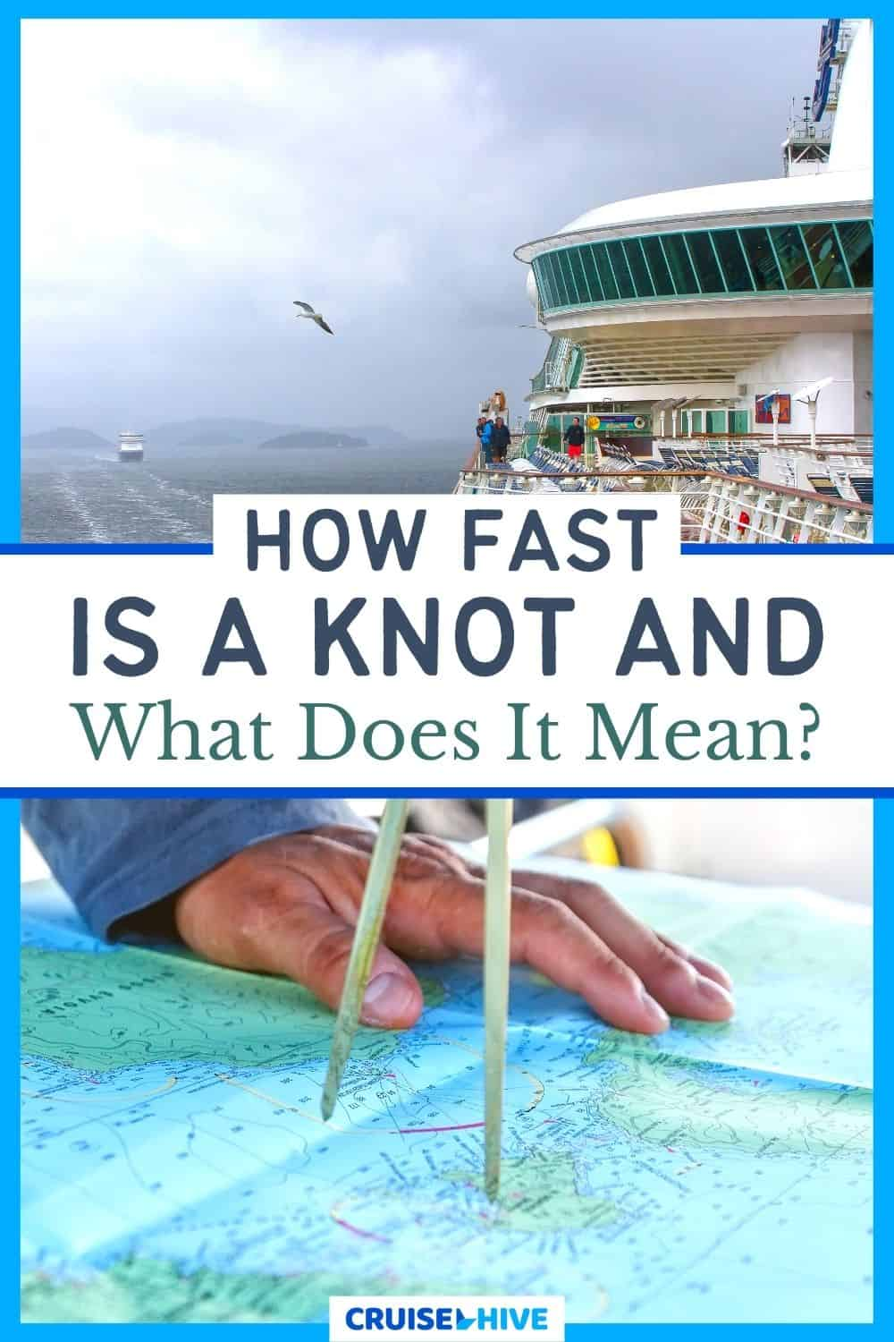 How fast is a knot