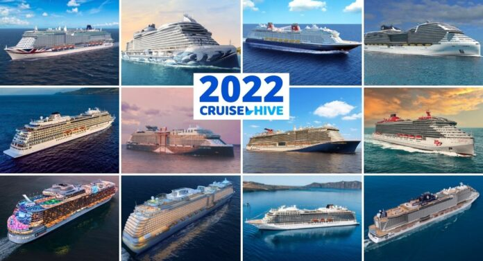 Major New Cruise Ships in 2022