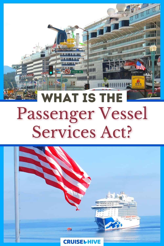 Passenger Vessel Services Act
