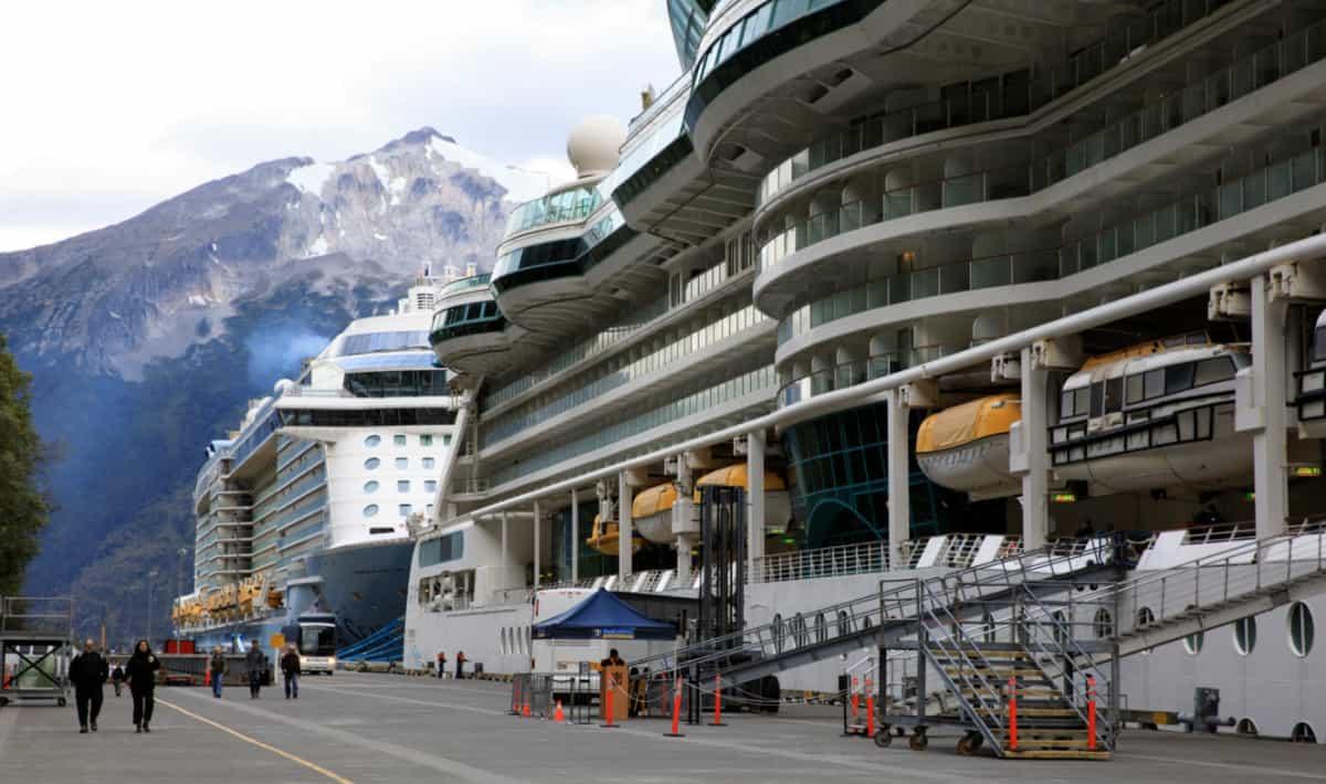 Cruise Ships in Skagway, Alaska