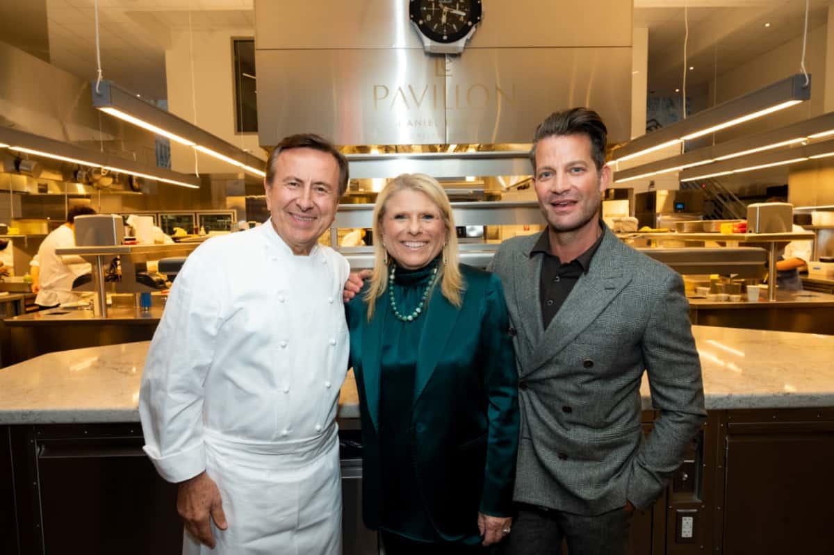 interior designer Nate Berkus, Celebrity Cruises President and CEO Lisa Lutoff-Perlo and Michelin-starred chef Daniel Boulud
