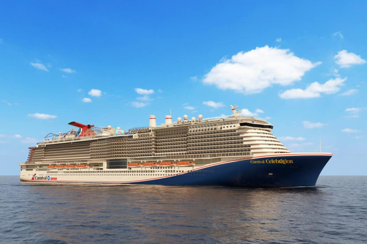 Carnival Celebration Cruise Ship