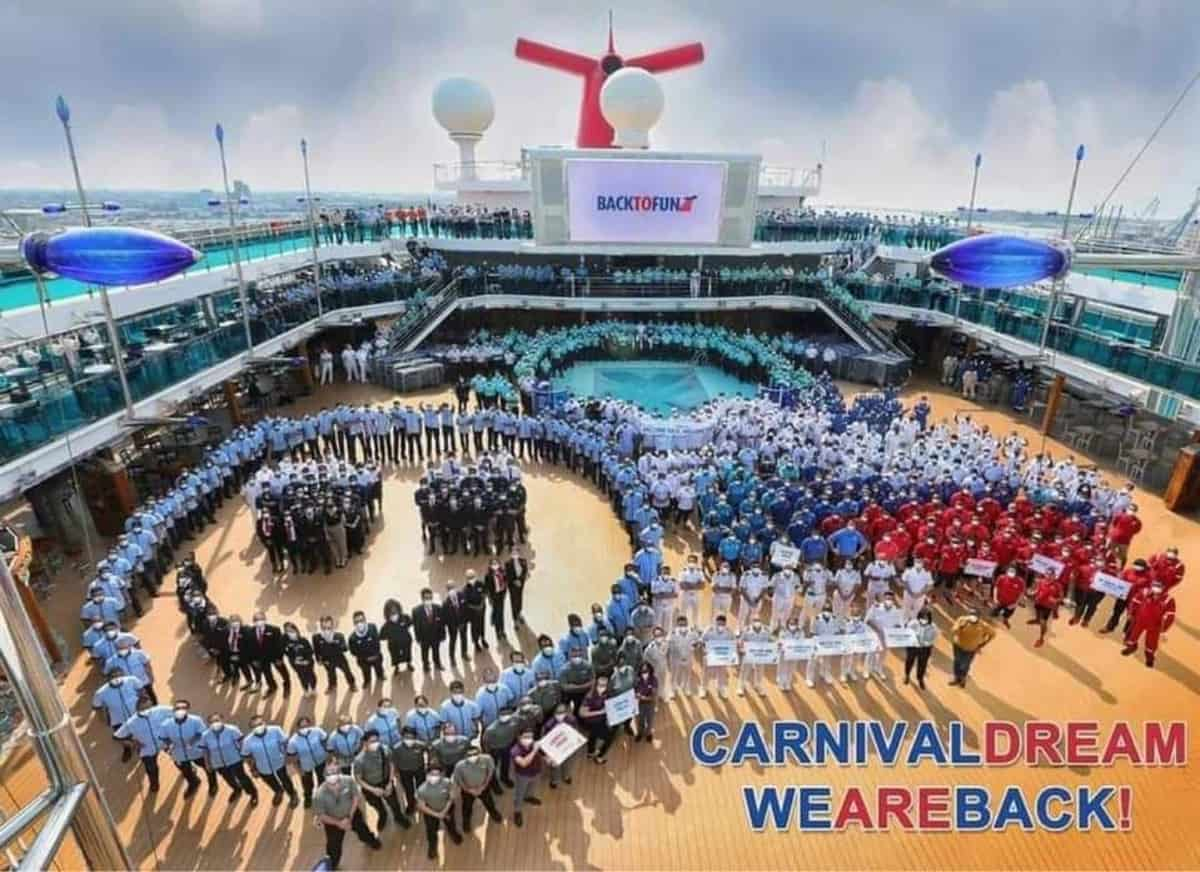 Carnival Dream Crew Members