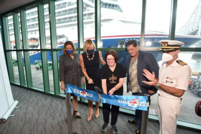 Carnival Glory Restarts Operations