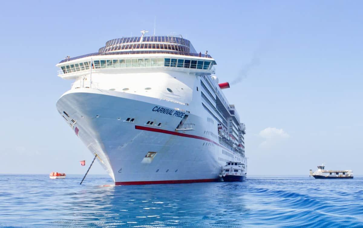 Carnival Pride Cruise Ship