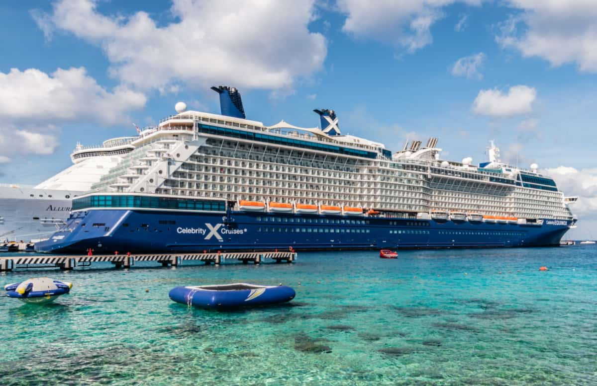 Royal Caribbean and Celebrity Cruise Ships