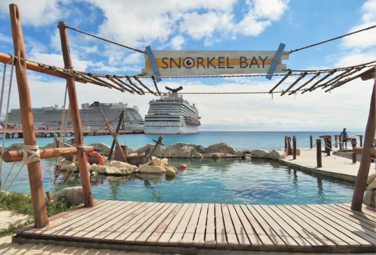 Snorkel Bay at Costa Maya