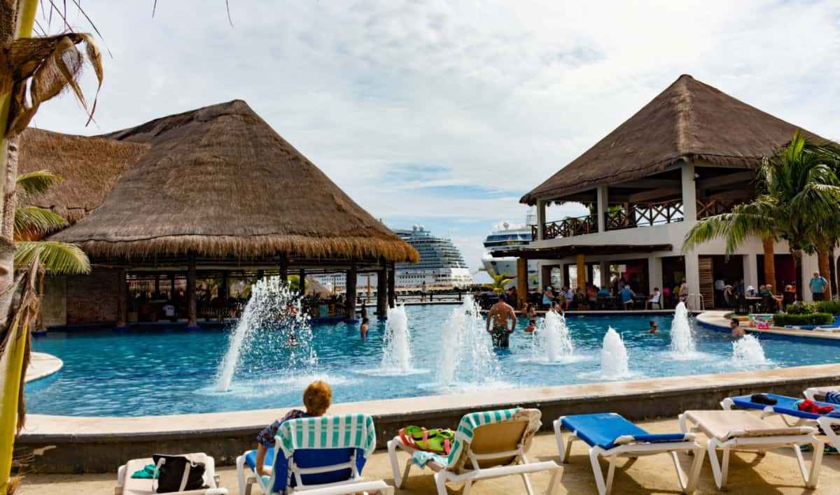 Costa Maya Port Area