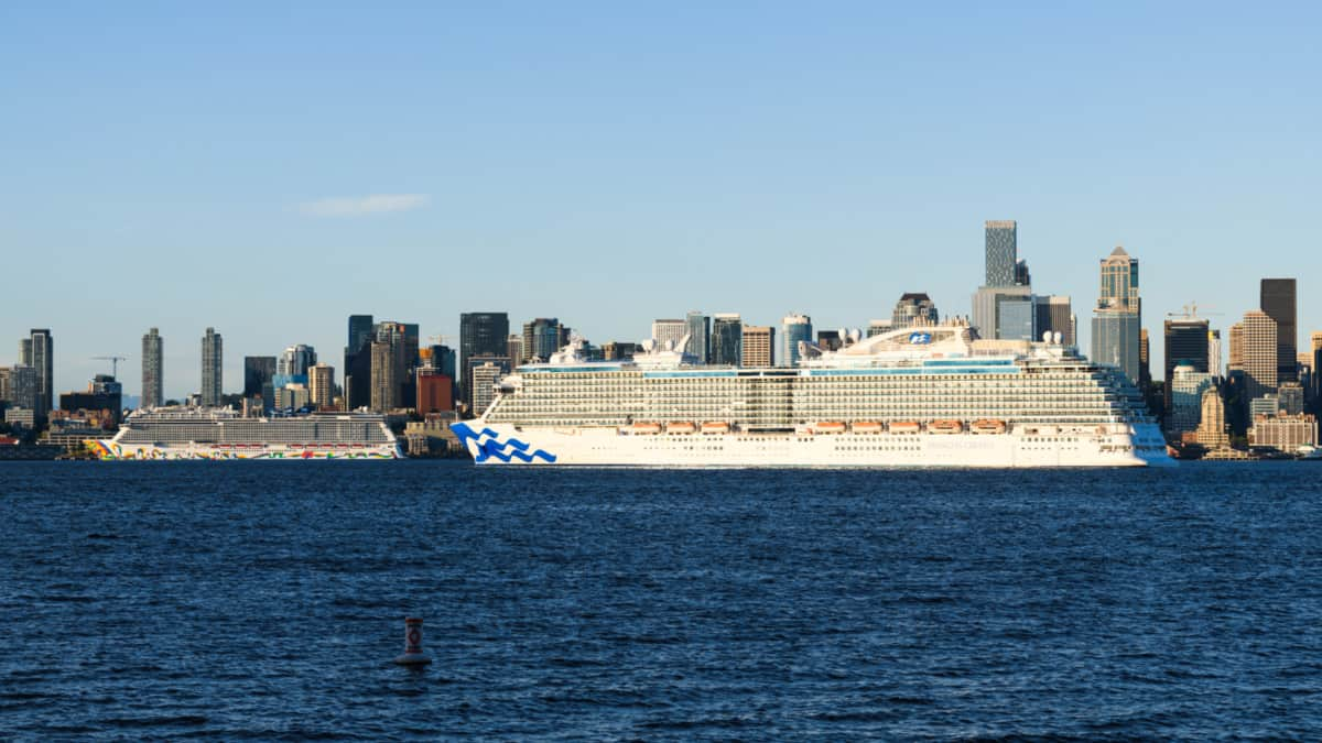 Cruise Ships Offering Alaska Cruises From Seattle