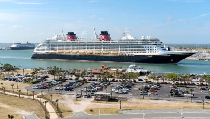 Disney Fantasy Departing Florida