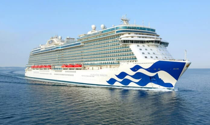 Enchanted Princess Cruise Ship