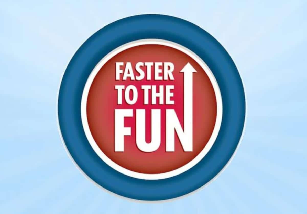 Faster to the Fun Logo