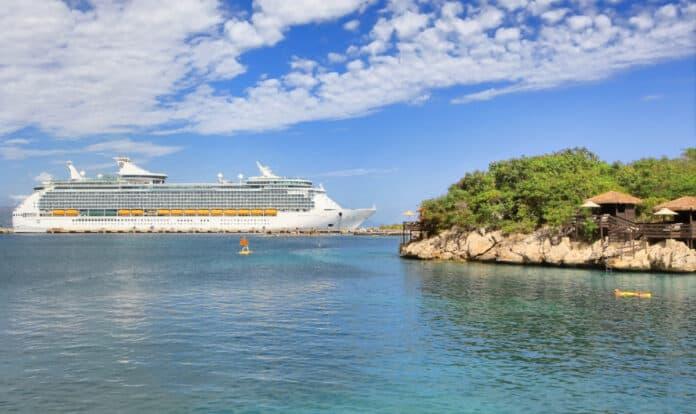 Royal Caribbean Ship in Labadee Haiti