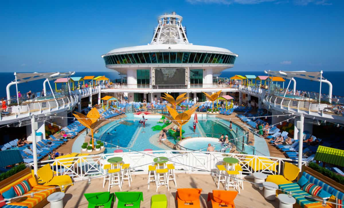 Navigator of the Seas Open Deck
