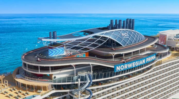Norwegian Prima Cruise Ship
