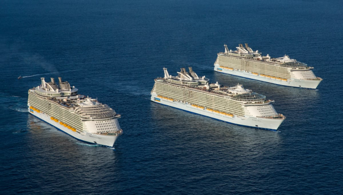 Royal Caribbean Oasis-class Cruise Ships