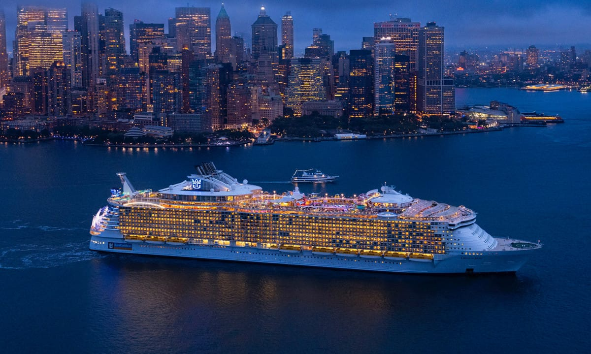 Oasis of the Seas in New York