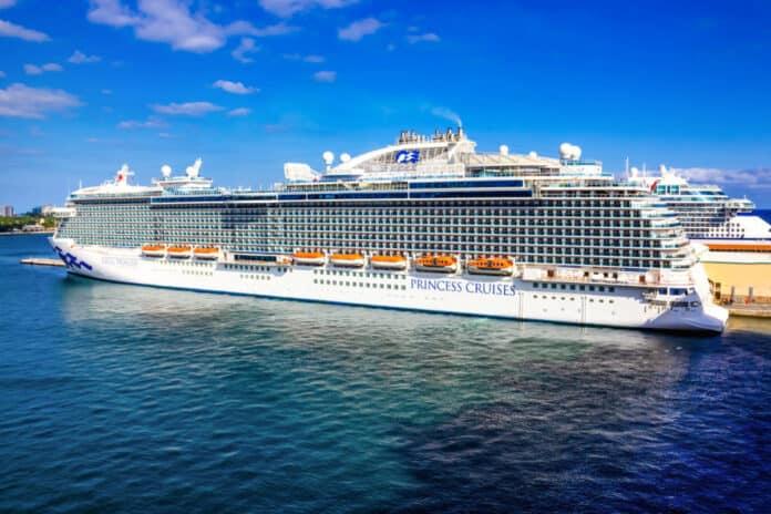 Princess Cruise Ship in Florida
