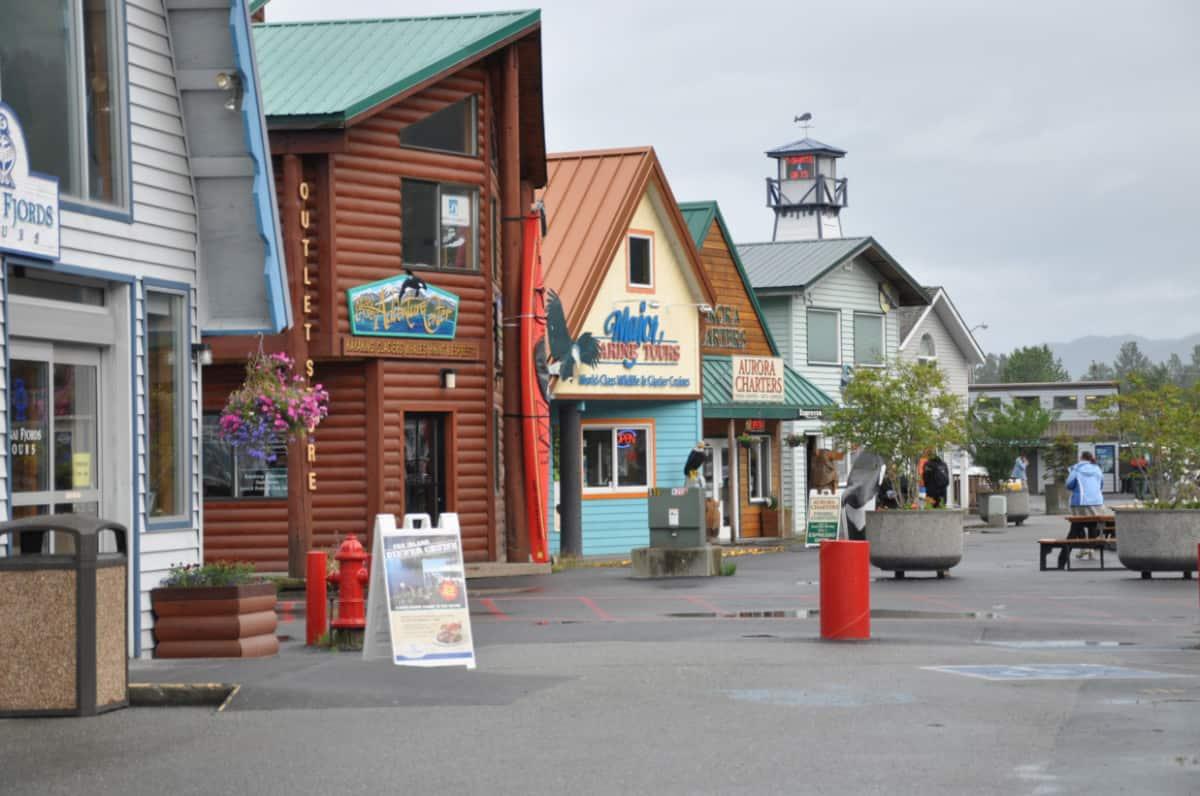 Tourist Shops in Seward, Alaska