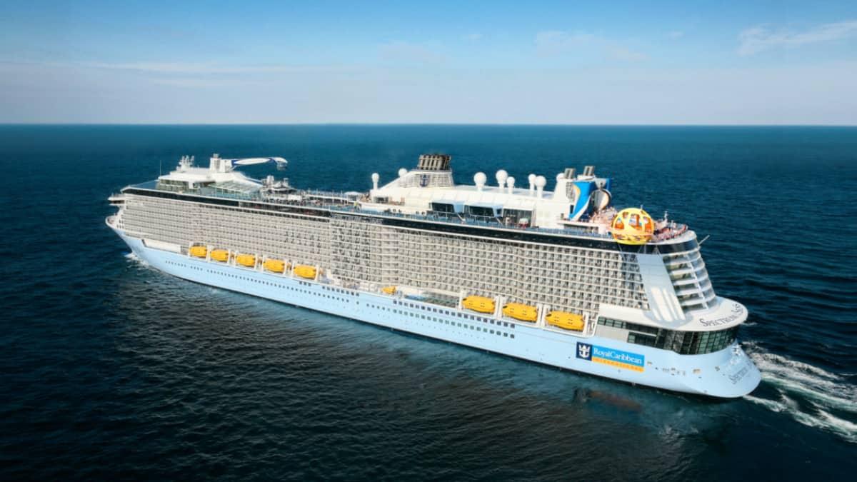 Spectrum of the Seas Cruise Ship