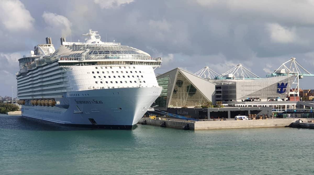 Symphony of the Seas at PortMiami