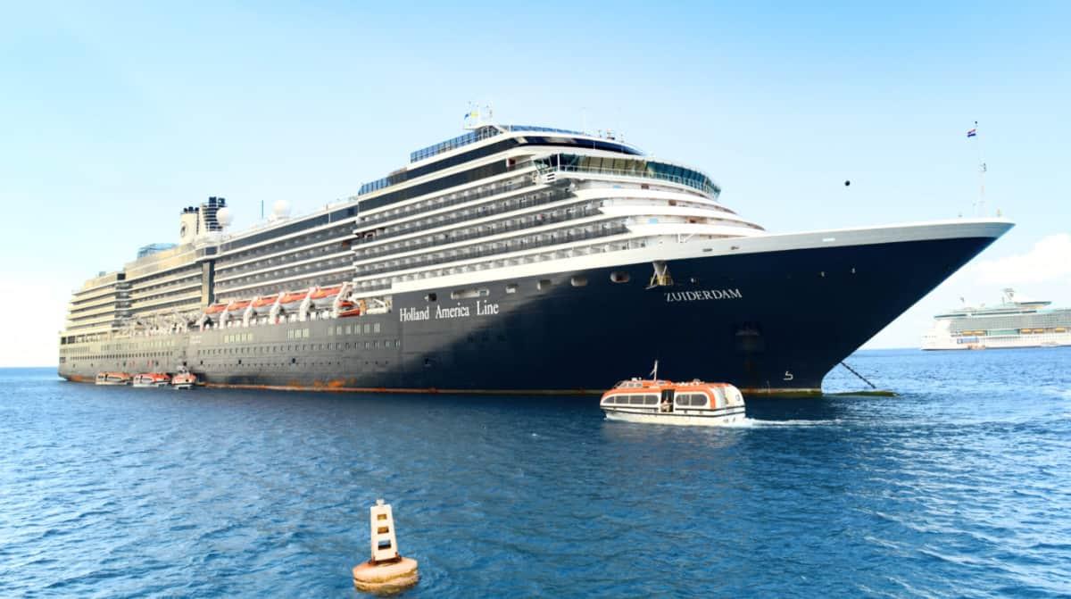 Zuiderdam Cruise Ship