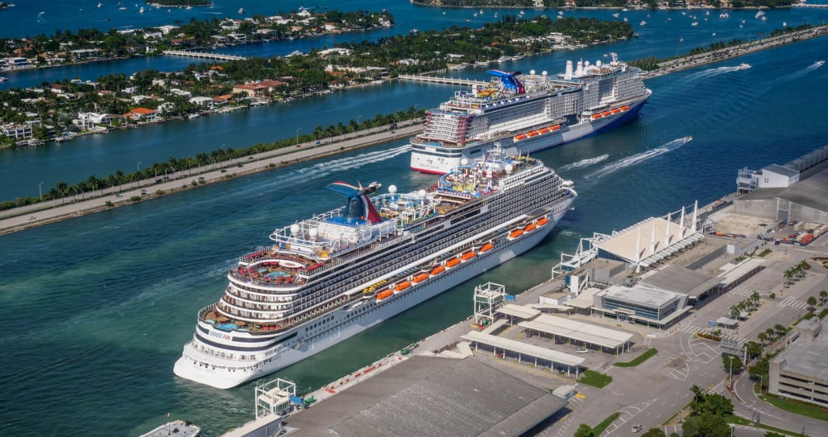 Carnival Cruise Ships in Miami