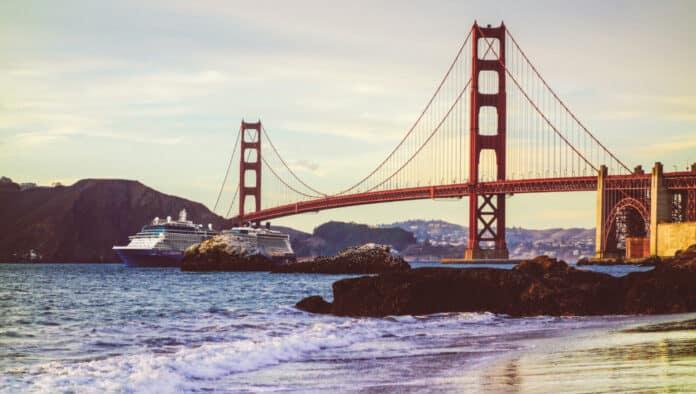 Celebrity Cruise Ship in San Francisco
