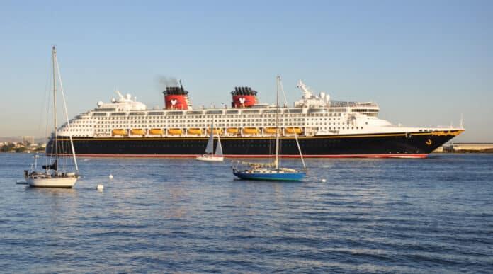 Disney Wonder in San Diego