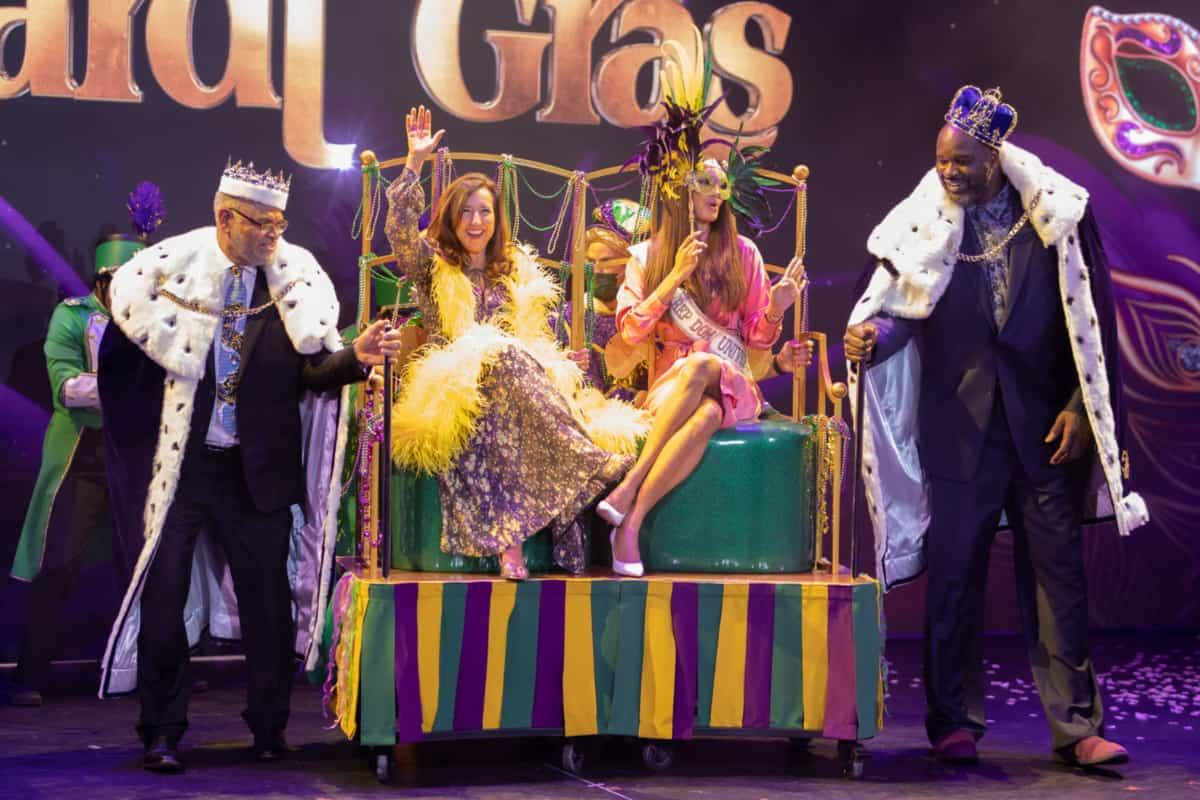 Carnival Mardi Gras Naming Ceremony
