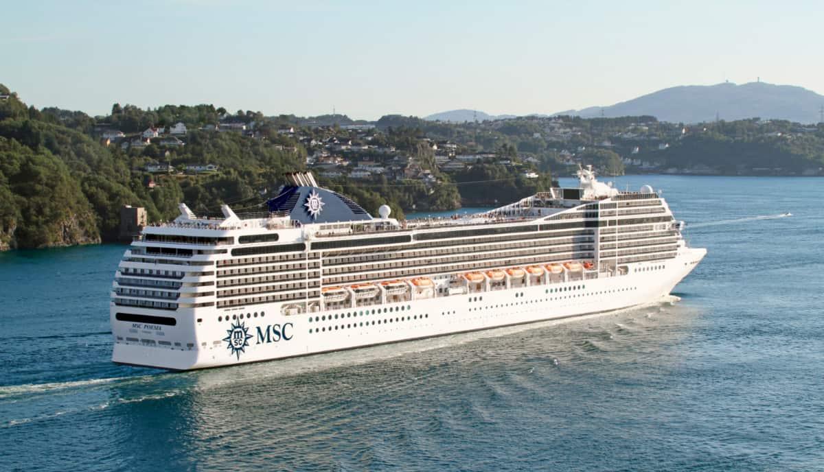 MSC Poesia Cruise Ship