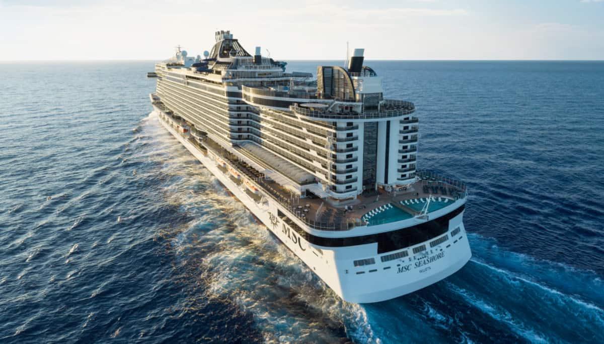 MSC Seashore Cruise Ship