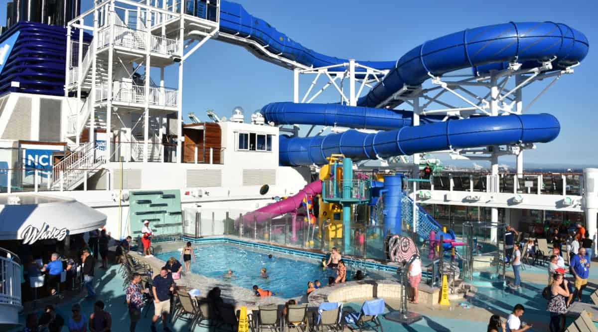 Norwegian Cruise Line Ship Deck