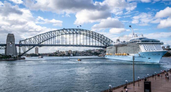 Ovation of the Seas in Australia